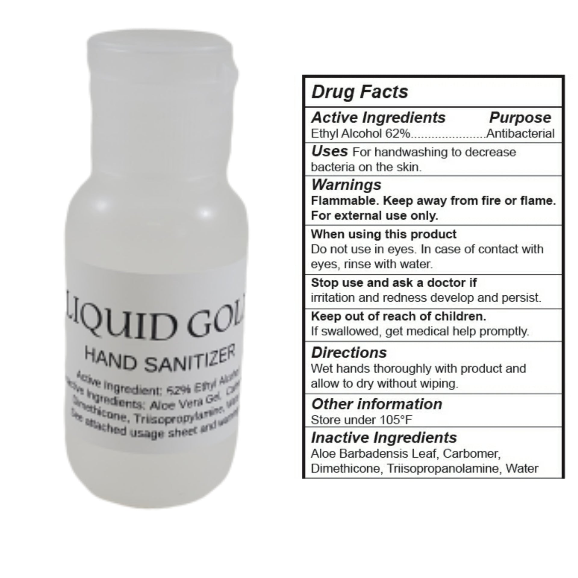 Hand Sanitizer - Quantities Limited
