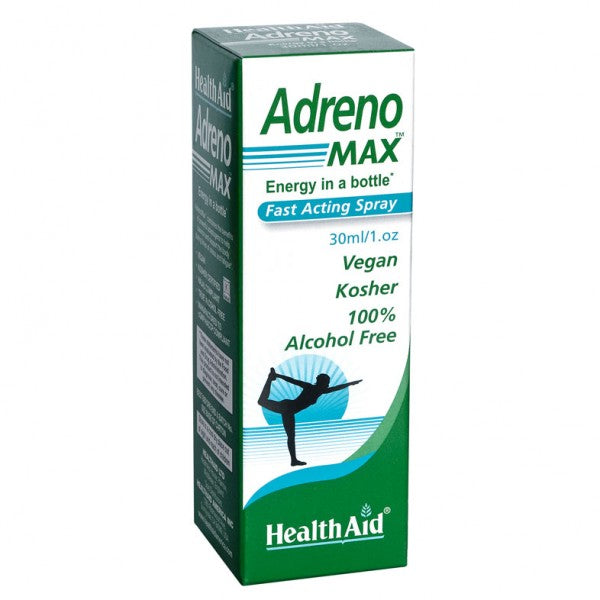 Health Aid AdrenoMax 1oz.-Supplements-The Scarlet Sage Herb Co.
