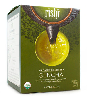 Rishi Tea Sencha-Teas-The Scarlet Sage Herb Co.