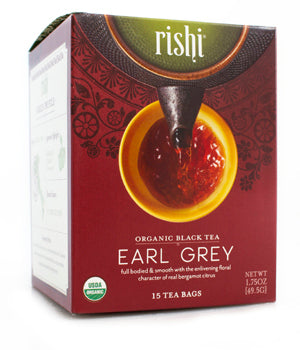 Rishi Tea Earl Grey-Teas-The Scarlet Sage Herb Co.