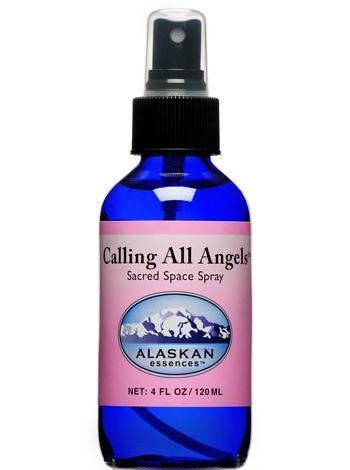 Alaskan Essences Calling All Angels Spray 4oz - The Scarlet Sage Herb Co.