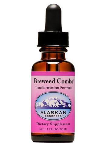 Alaskan Essences Fireweed Combo Formula 1oz - The Scarlet Sage Herb Co.
