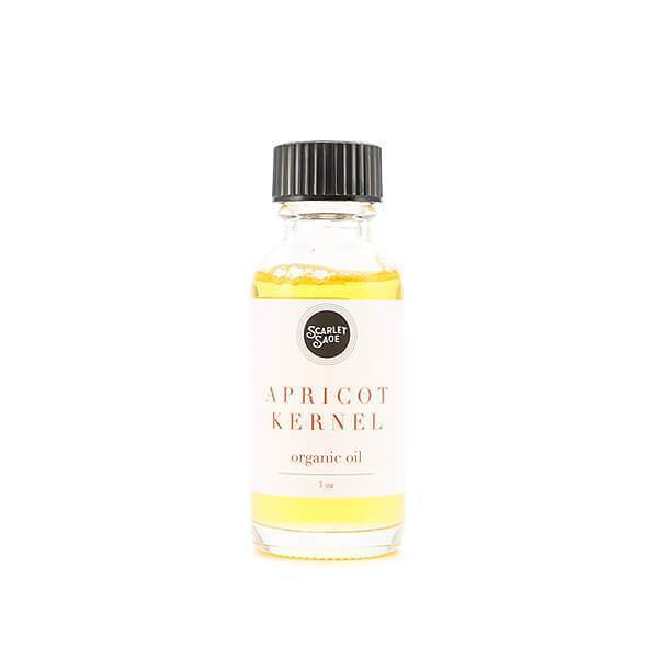 Apricot Organic Oil - The Scarlet Sage Herb Co.