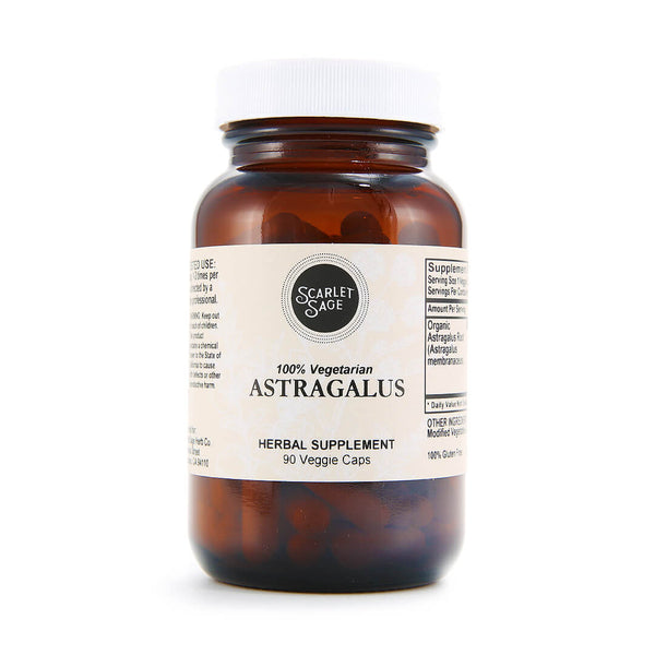 Scarlet Sage Astragalus 90ct - The Scarlet Sage Herb Co.