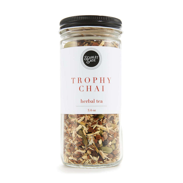 Trophy Chai Herbal Tea - The Scarlet Sage Herb Co.