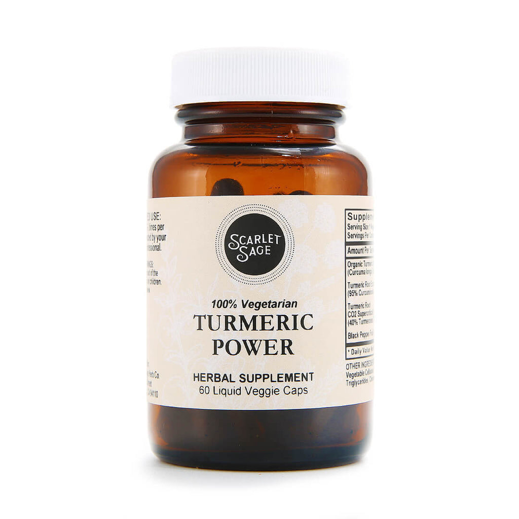Scarlet Sage Turmeric Power 60ct