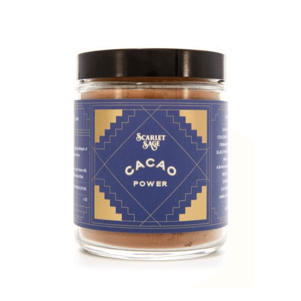 Cacao Power Powder - The Scarlet Sage Herb Co.