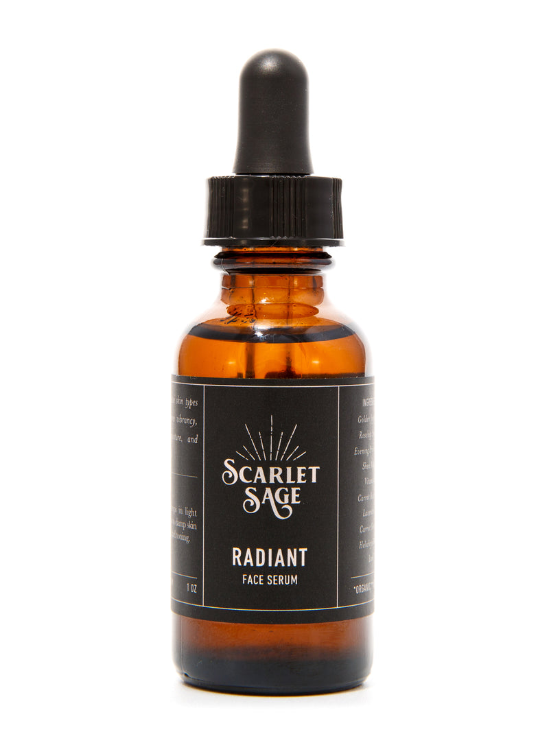 Radiant Facial Serum - The Scarlet Sage Herb Co.