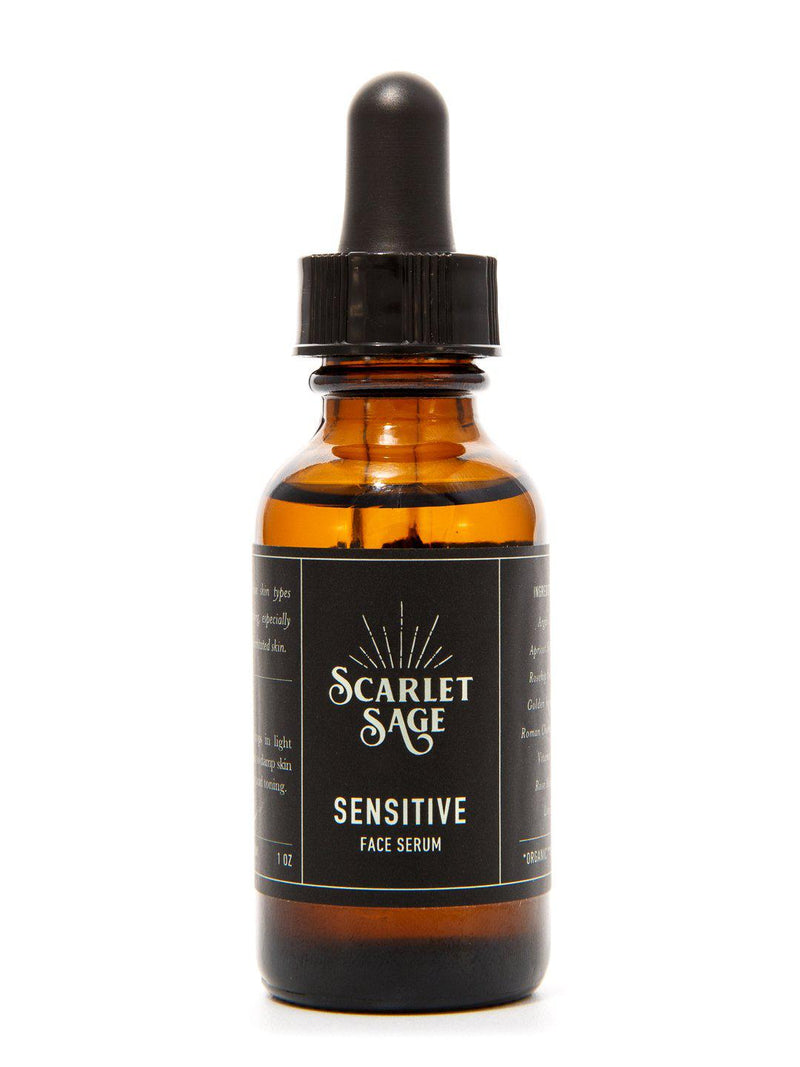 Sensitive Facial Serum - The Scarlet Sage Herb Co.