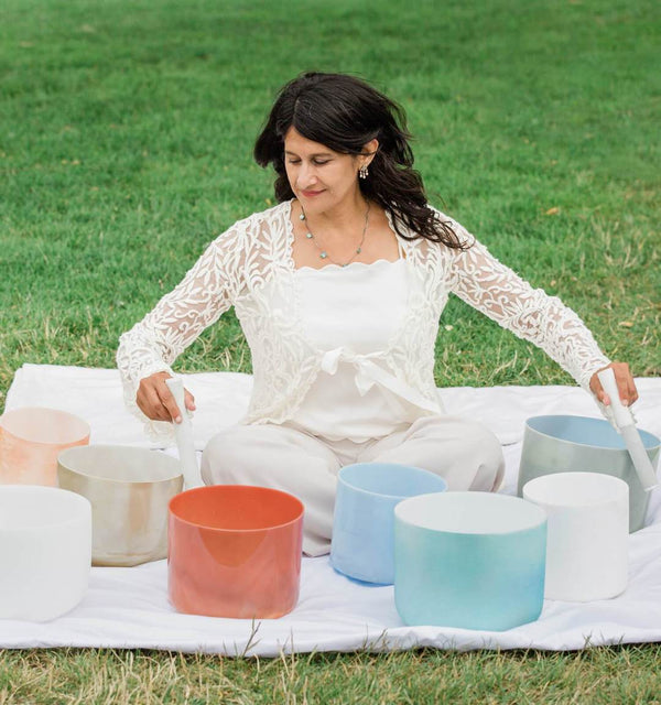 Online Sound Bath with Crystal Singing Bowls with Mytrae Meliana - June 18th, 6pm-7pm - The Scarlet Sage Herb Co.