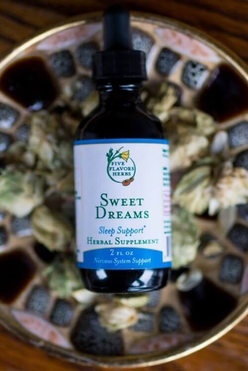 Five Flavors Herbs Sweet Dreams 2oz - The Scarlet Sage Herb Co.