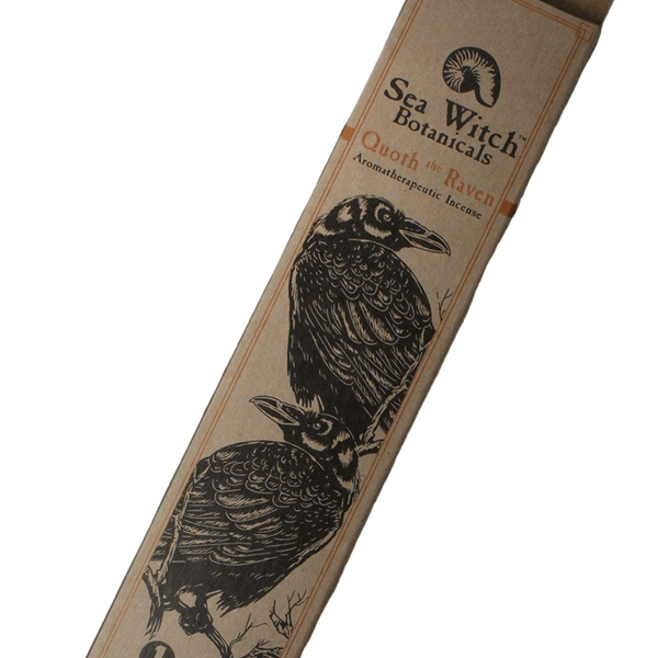 Sea Witch Botanicals Incense Raven 25ct - The Scarlet Sage Herb Co.