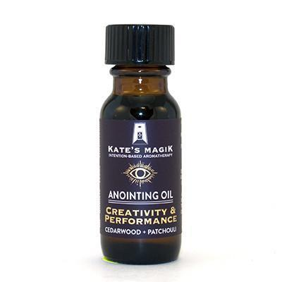 Kate's Magik Anointing Oil Creativity & Performance .5oz - The Scarlet Sage Herb Co.