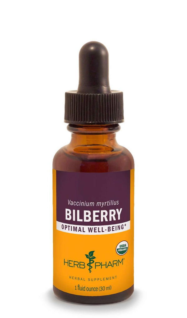 Herb Pharm Bilberry 1oz.