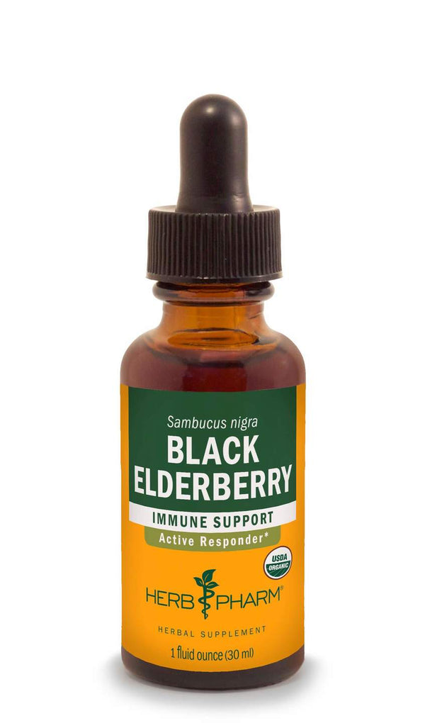 Herb Pharm Black Elderberry-Tinctures-The Scarlet Sage Herb Co.