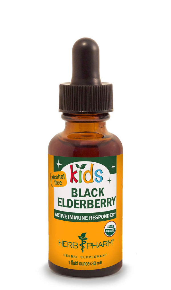 Herb Pharm Kids Black Elderberry 1oz-Tinctures-The Scarlet Sage Herb Co.