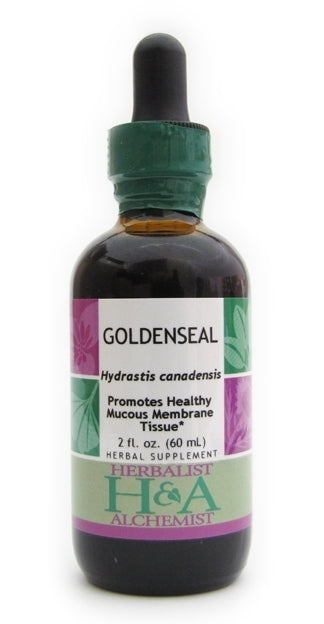 Herbalist & Alchemist Goldenseal-Tinctures-The Scarlet Sage Herb Co.