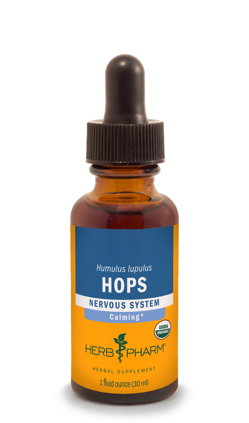 Herb Pharm Hops 1oz-Tinctures-The Scarlet Sage Herb Co.