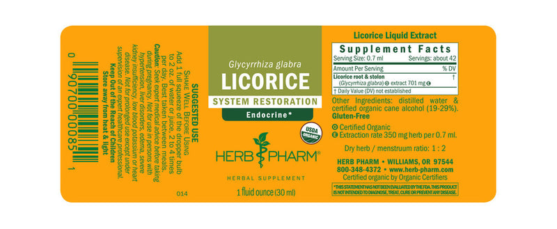 Herb Pharm Licorice 1oz