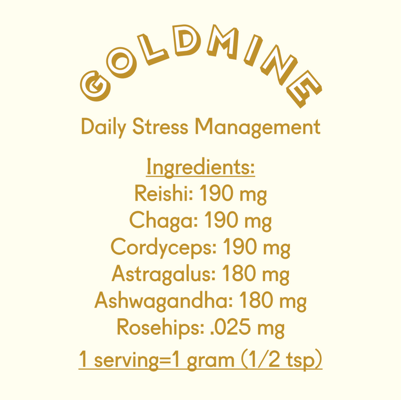 Goldmine Adaptogen Powder 39g