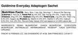 Goldmine Adaptogen Powder Satchet 2g-Teas-The Scarlet Sage Herb Co.