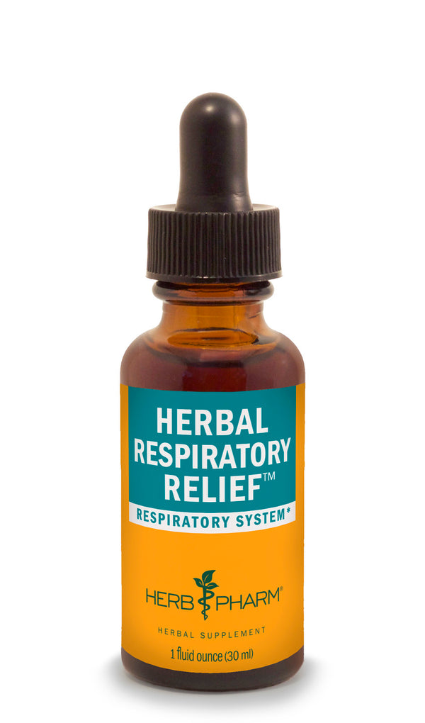 Herb Pharm Herbal Respiratory Relief 1oz-Tinctures-The Scarlet Sage Herb Co.