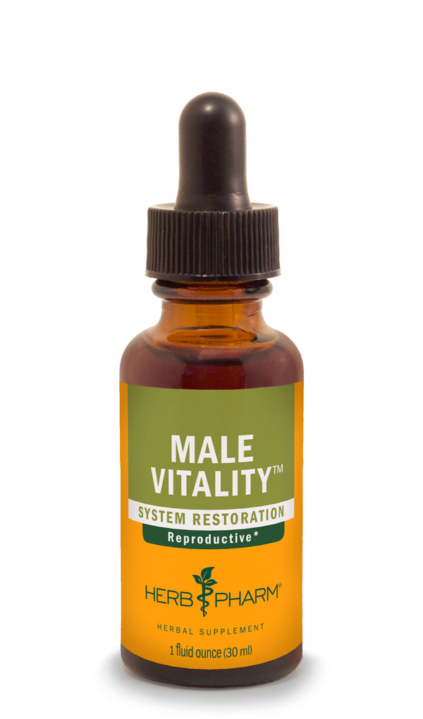 Herb Pharm Male Vitality 1oz-Tinctures-The Scarlet Sage Herb Co.