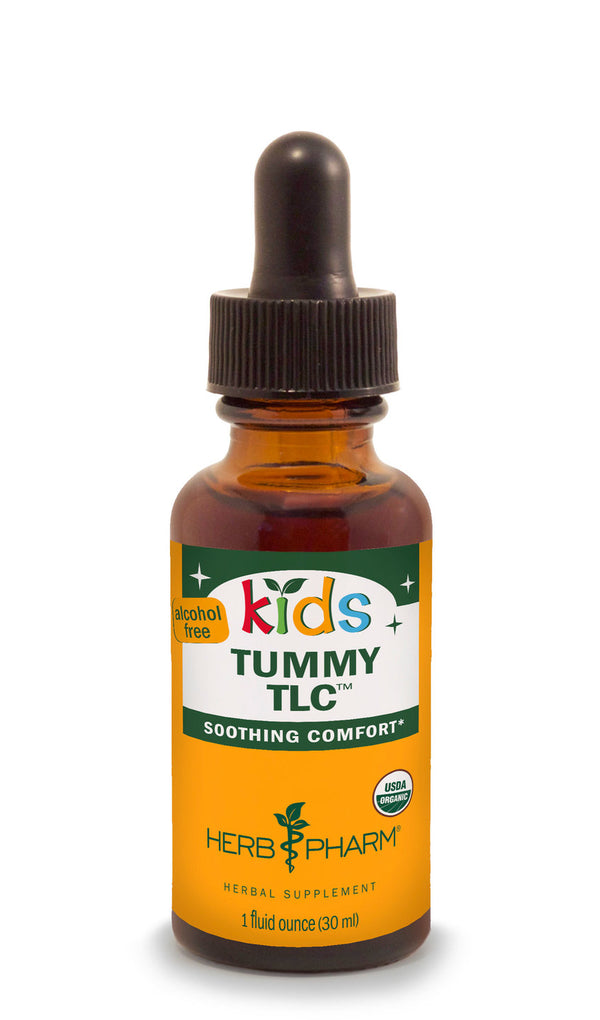 Herb Pharm Kids Tummy TLC 1oz-Tinctures-The Scarlet Sage Herb Co.