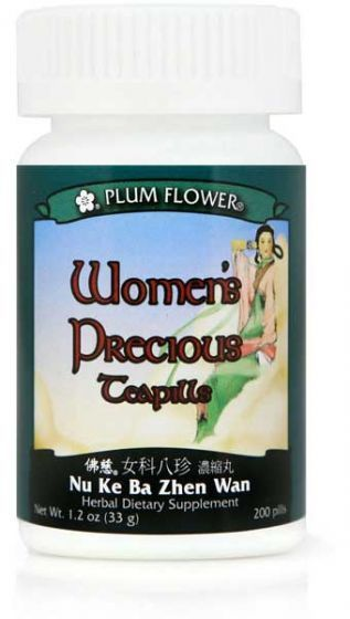 Plum Flower Women's Precious Teapills 200 Ct.-Supplements-The Scarlet Sage Herb Co.