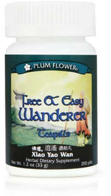 Plum Flower Free And Easy Wanderer Teapills 200ct-Supplements-The Scarlet Sage Herb Co.