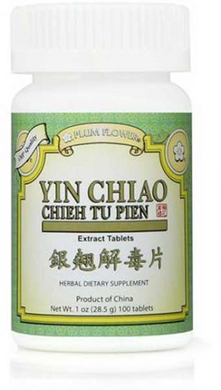 Plum Flower Yin Chiao 100 Tab-Supplements-The Scarlet Sage Herb Co.