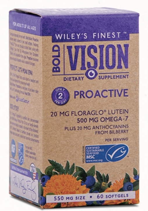Wileys Bold Vision 60ct-Supplements-The Scarlet Sage Herb Co.
