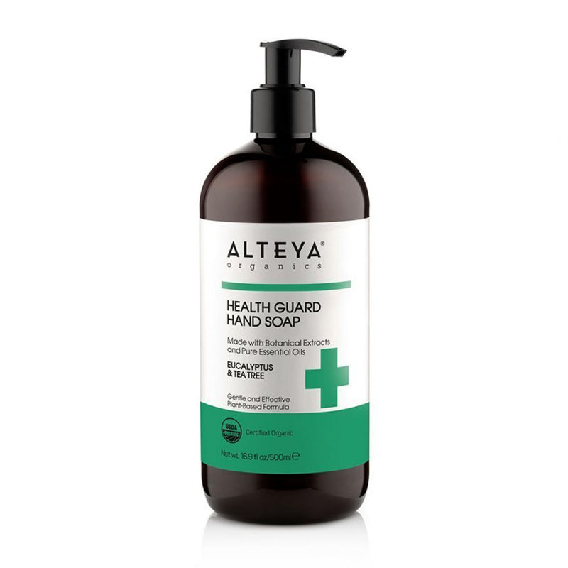 Alteya Liquid Soap Health Guard Eucalyptus & Tea Tree 8.5oz-Bodycare-The Scarlet Sage Herb Co.