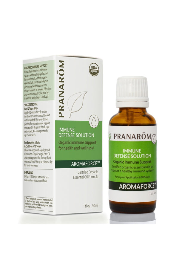 Pranarom Immune Defense Solution-The Scarlet Sage Herb Co.