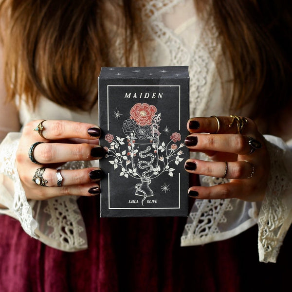The Maiden Oracle By Leila + Olive-The Scarlet Sage Herb Co.