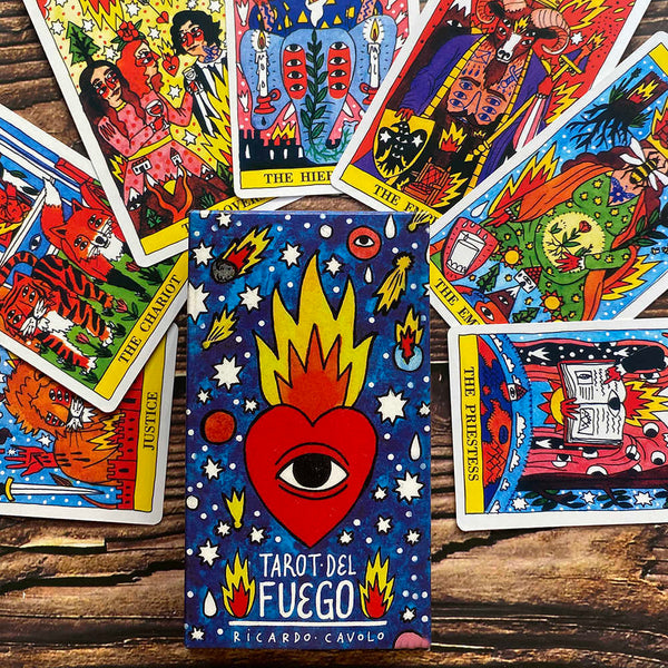 Tarot Del Fuego-The Scarlet Sage Herb Co.