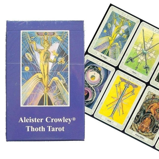 Thoth Tarot - Crowley-The Scarlet Sage Herb Co.