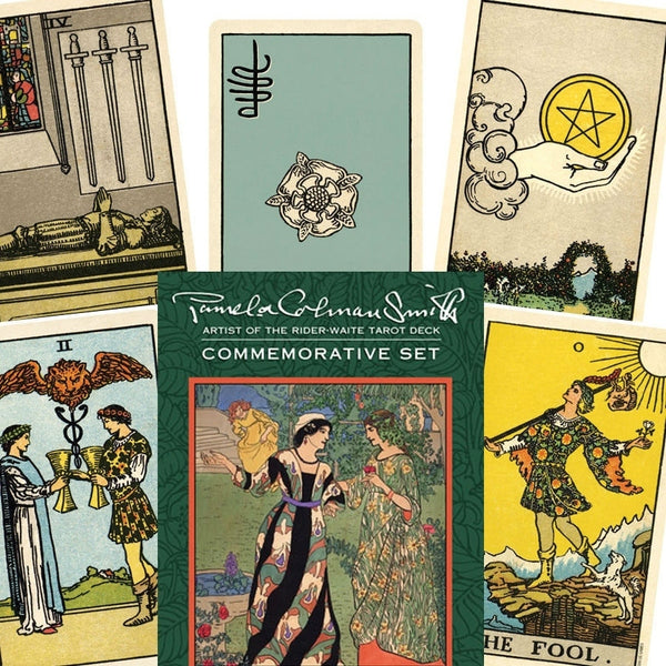 Pamela Colman Smith Commemorative Tarot Set-The Scarlet Sage Herb Co.
