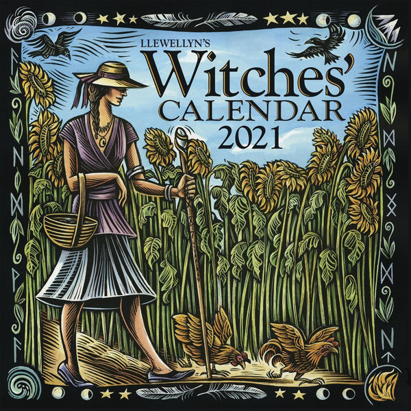 Llewellyn 2021 Witches Calendar-Journals / Calendars-The Scarlet Sage Herb Co.