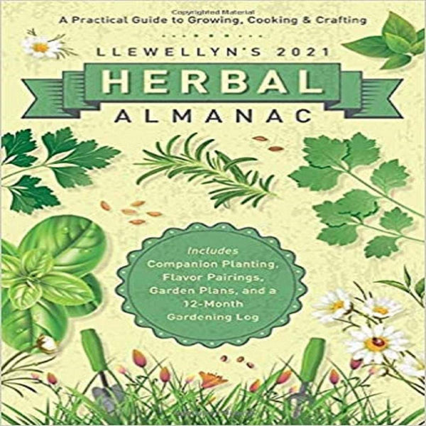 Llewellyn's 2021 Herbal Almanac-Journals / Calendars-The Scarlet Sage Herb Co.