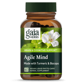 Gaia Herbs Agile Mind 60ct-Supplements-The Scarlet Sage Herb Co.