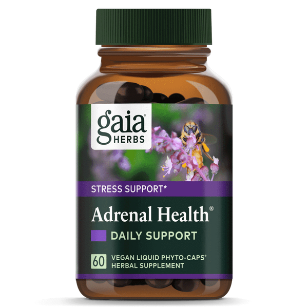 Gaia Herbs Adrenal Health Daily Support-Supplements-The Scarlet Sage Herb Co.