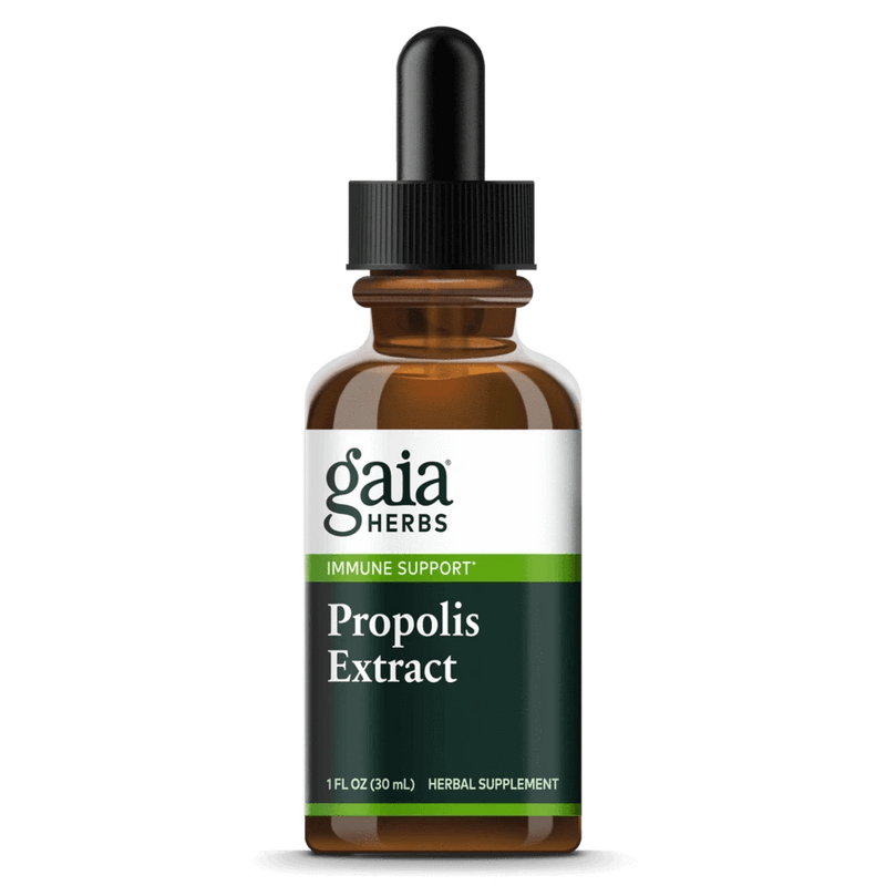 Gaia Herbs Tincture Propolis Extract 1oz-Tinctures-The Scarlet Sage Herb Co.