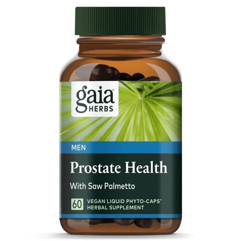 Gaia Herbs Prostate Health 60ct-Supplements-The Scarlet Sage Herb Co.