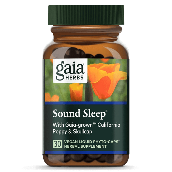Gaia Herbs Sound Sleep-Supplements-The Scarlet Sage Herb Co.