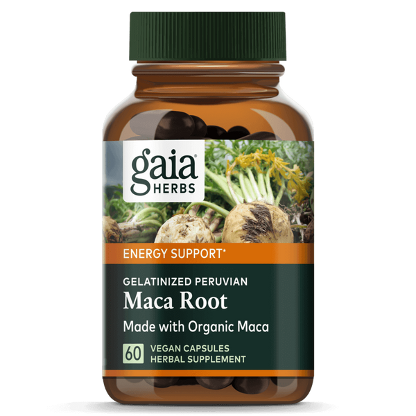 Gaia Herbs Maca Root 60ct-Supplements-The Scarlet Sage Herb Co.