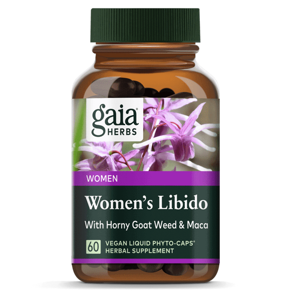 Gaia Herbs Womens Libido 60ct-Supplements-The Scarlet Sage Herb Co.