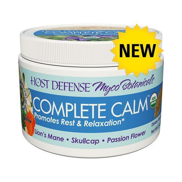 Host Defense Powder Complete Calm 3.5oz-Supplements-The Scarlet Sage Herb Co.