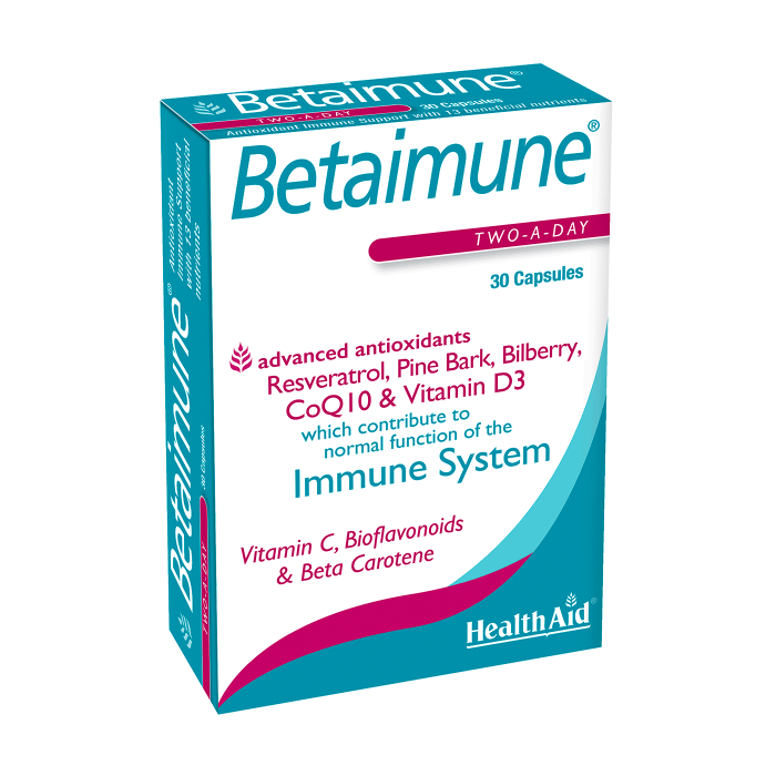 Health Aid BetaImmune 30ct-The Scarlet Sage Herb Co.