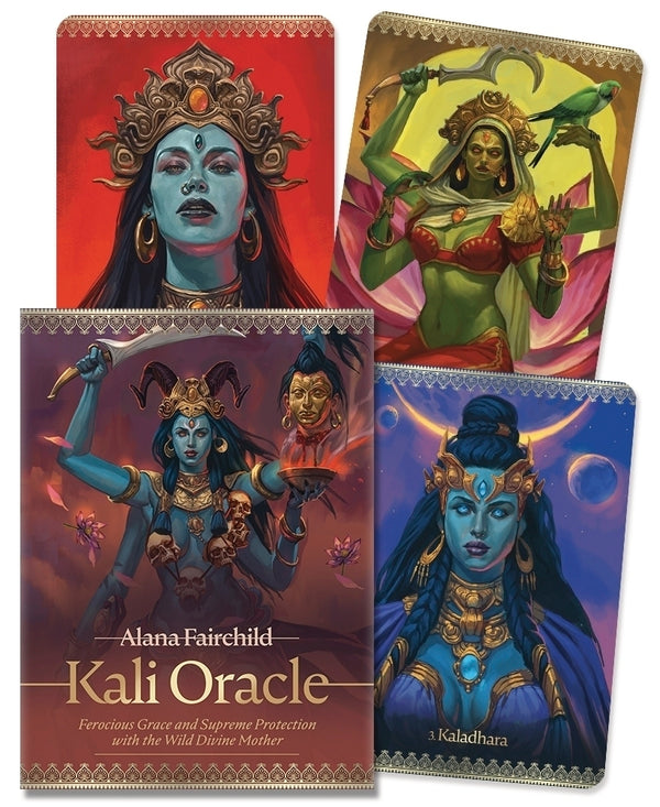 Kali Oracle-Tarot / Oracle Decks-The Scarlet Sage Herb Co.